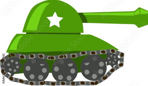 Poster Militaire War Tank