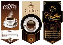 Three Coffee Design Templates