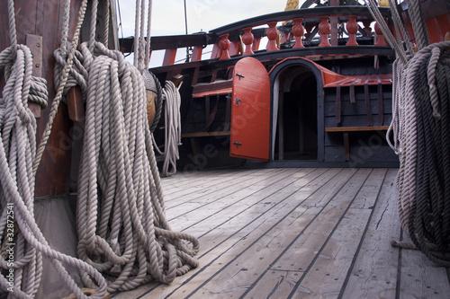 Photo Stands Ship Reconstruction of the VOC ship The Batavia