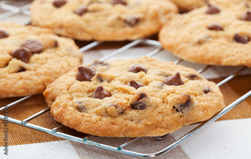 Türaufkleber Kekse Chocolate Chip Cookies