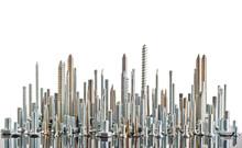 Various Metal Bolts And Screws...