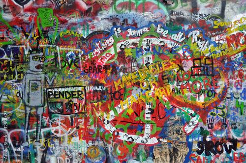 John Lennon wall in Prague © SandyS