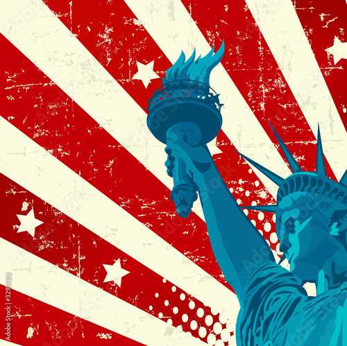 Poster Magie Statue of Liberty