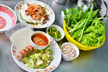 Fresh Vietnamese Style Food Set