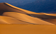 Mesquite Flat Sand Dunes At Sunrise, Death Valley