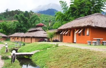 Fototapeta na wymiar Thai style Resort