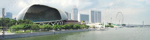 Tuinposter Singapore Esplanade Theatres