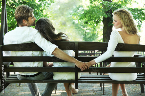 Printed kitchen splashbacks Artist KB Conceptual photo of a marital infidelity