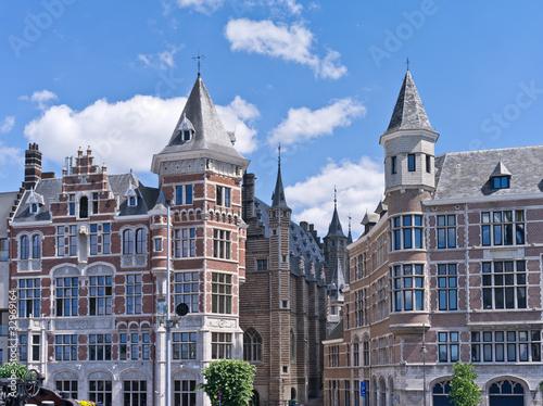 Tuinposter Antwerpen Häuser in Antwerpen