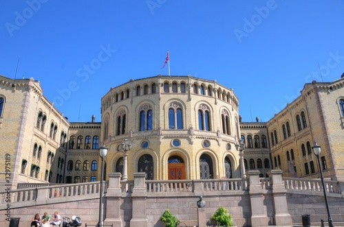 Oslo (Norway) - Parliament Poster