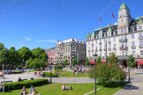 Photo  Oslo (Norway) - Parliament