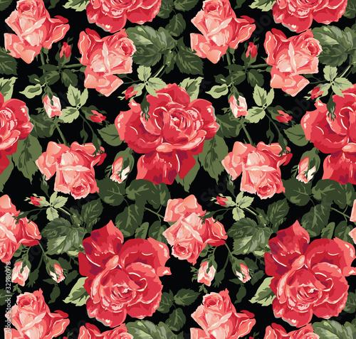 klasyczna-roza-bezszwowe-tlo