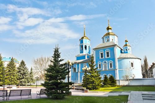 church in russia Wallpaper Mural