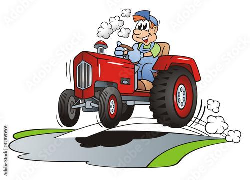 Fotografie, Obraz  High Speed Tractor