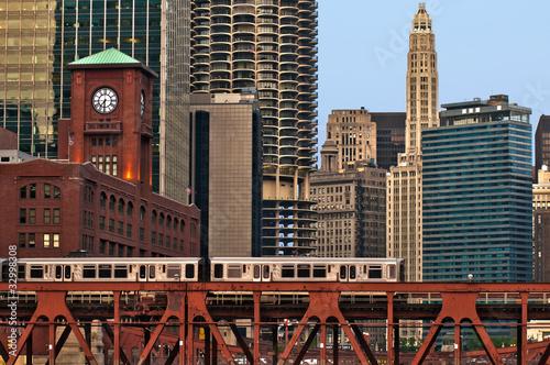 Poster Chicago Chicago transportation.