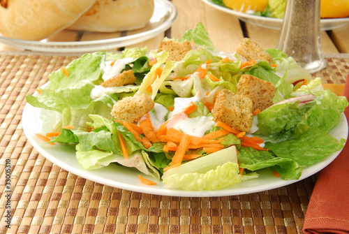 Fotografie, Obraz  Fresh green salad