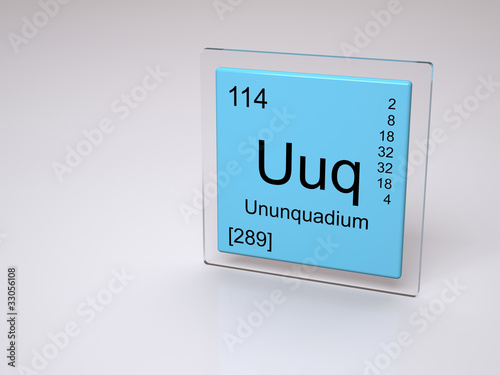 Ununquadium uuq chemical element of the periodic table buy ununquadium uuq chemical element of the periodic table urtaz Image collections