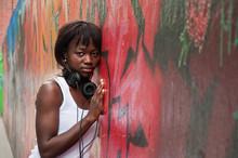 Jeune Femme Black Devant  Graffs