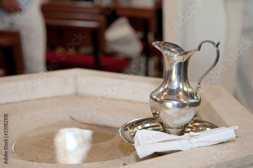 Fotografering Baptism detail