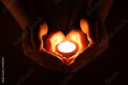 Carta da parati candle