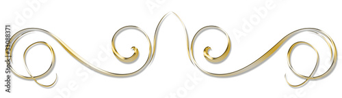 Slika na platnu arabesque en or