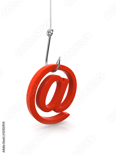 Fotografía  3d Phishing for your email address