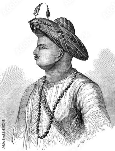 Canvas Print Tipu Sultan