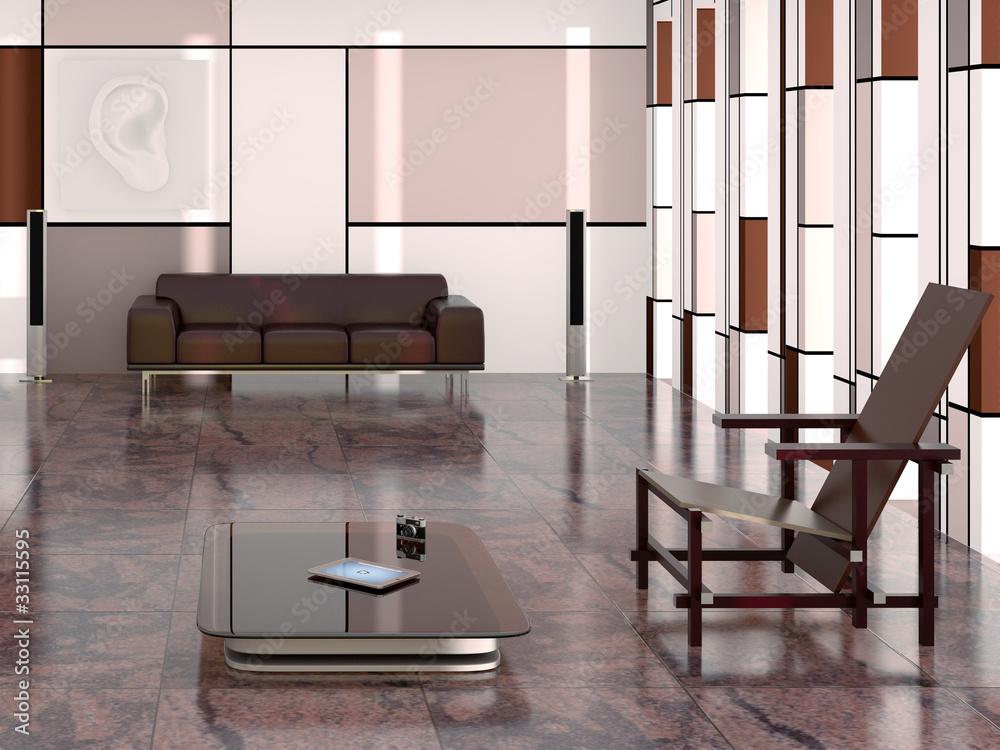 Salon moderne Foto, Poster, Wandbilder bei EuroPosters