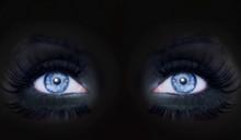 Blue Eyes Darked Face Makeup B...