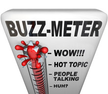 Buzz Meter Thermometer Measure...