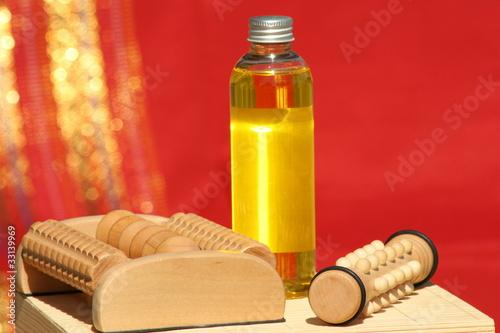 Fotografie, Obraz  coffret de massage