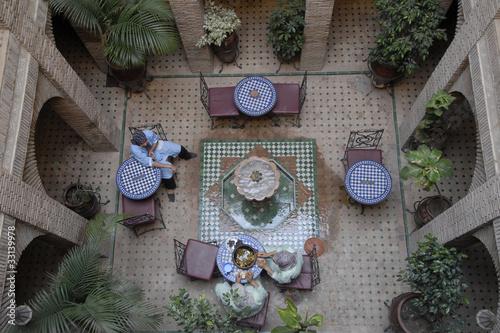Fotoposter Marokko africa, marocco, marrakesch, riad