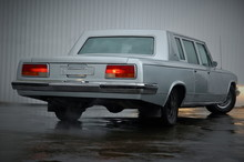 Back View Of ZIL-115, Old Fashion Representative Car From USSR
