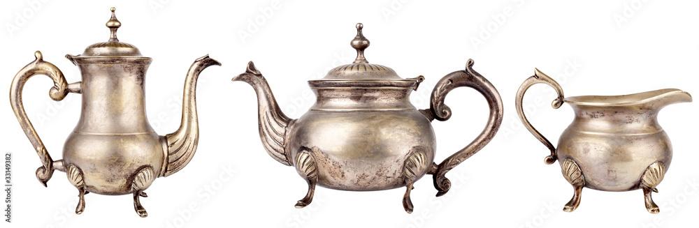 Fototapety, obrazy: Teapots
