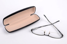 Eye Glasses Whit Box Isolated ...