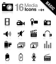 Basic - Media Icons 01
