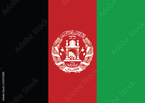 Photo Afghanistan flag