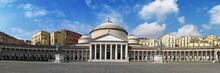 Plebiscito Square In Naples