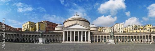 Foto op Aluminium Napels Plebiscito Square in Naples