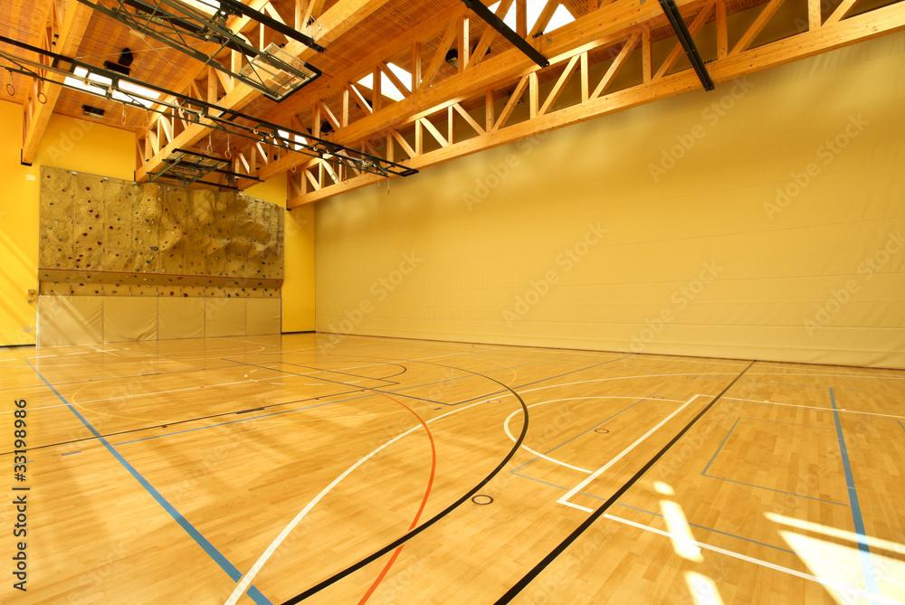 Fototapeta sala da ginnastica