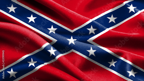Fotografija  Rebel flag.