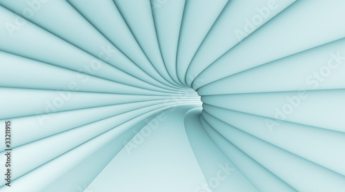 Fototapety, obrazy: Abstract Tunnel