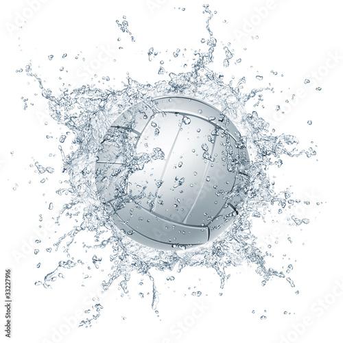 Volleyball Ball Wallpaper Mural