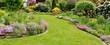 canvas print picture - Im Garten entspannen