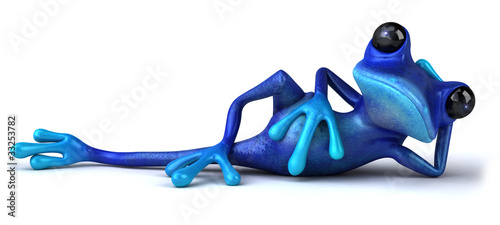 Fotografia  Blue frog
