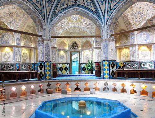 historyczna-kapiel-sultana-amira-ahmada-kashan-iran