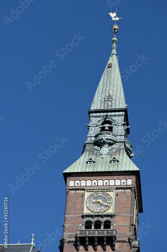 Rathausturm, Kopenhagen Poster