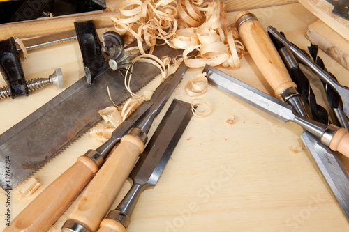 Obraz carpentry - fototapety do salonu