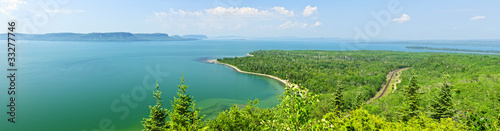 Lake Superior panorama