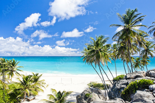 Photo Stands Caribbean Bottom Bay, Barbados, Caribbean